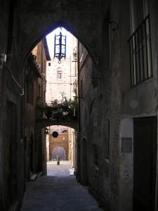 old medieval street